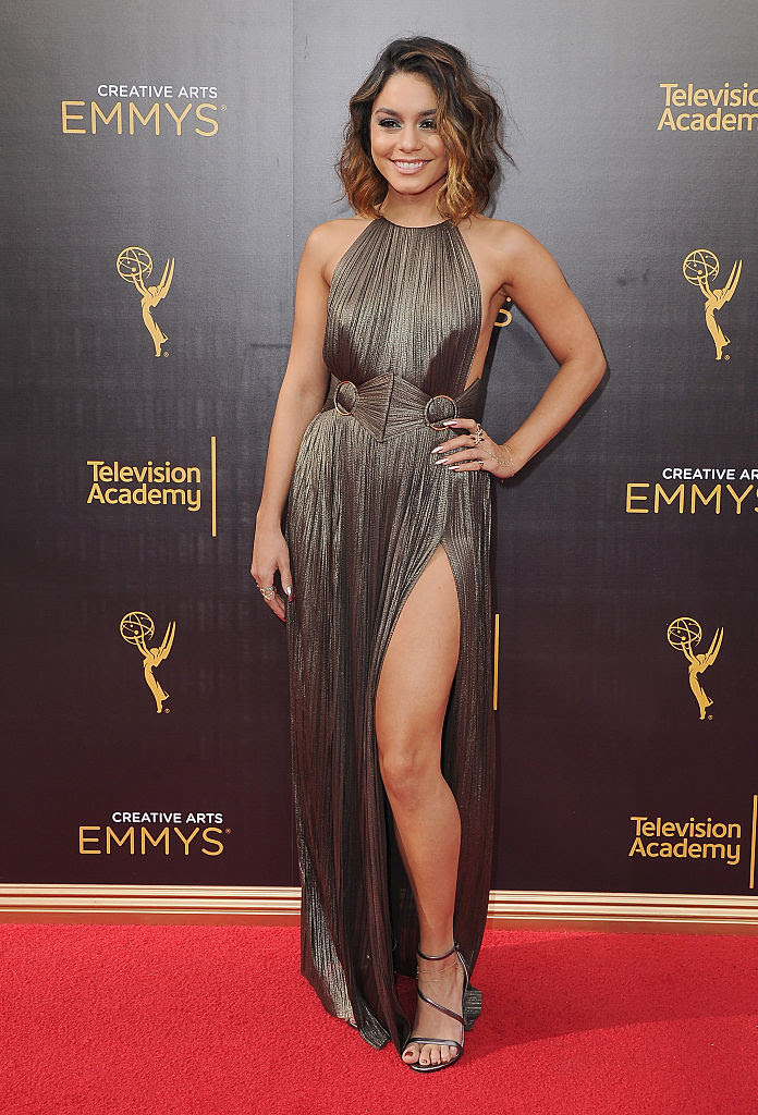 Vanessa Hudgens Wore Maria Lucia Hohan To The 2016 Creative Arts Emmy Awards Fashion Maniac