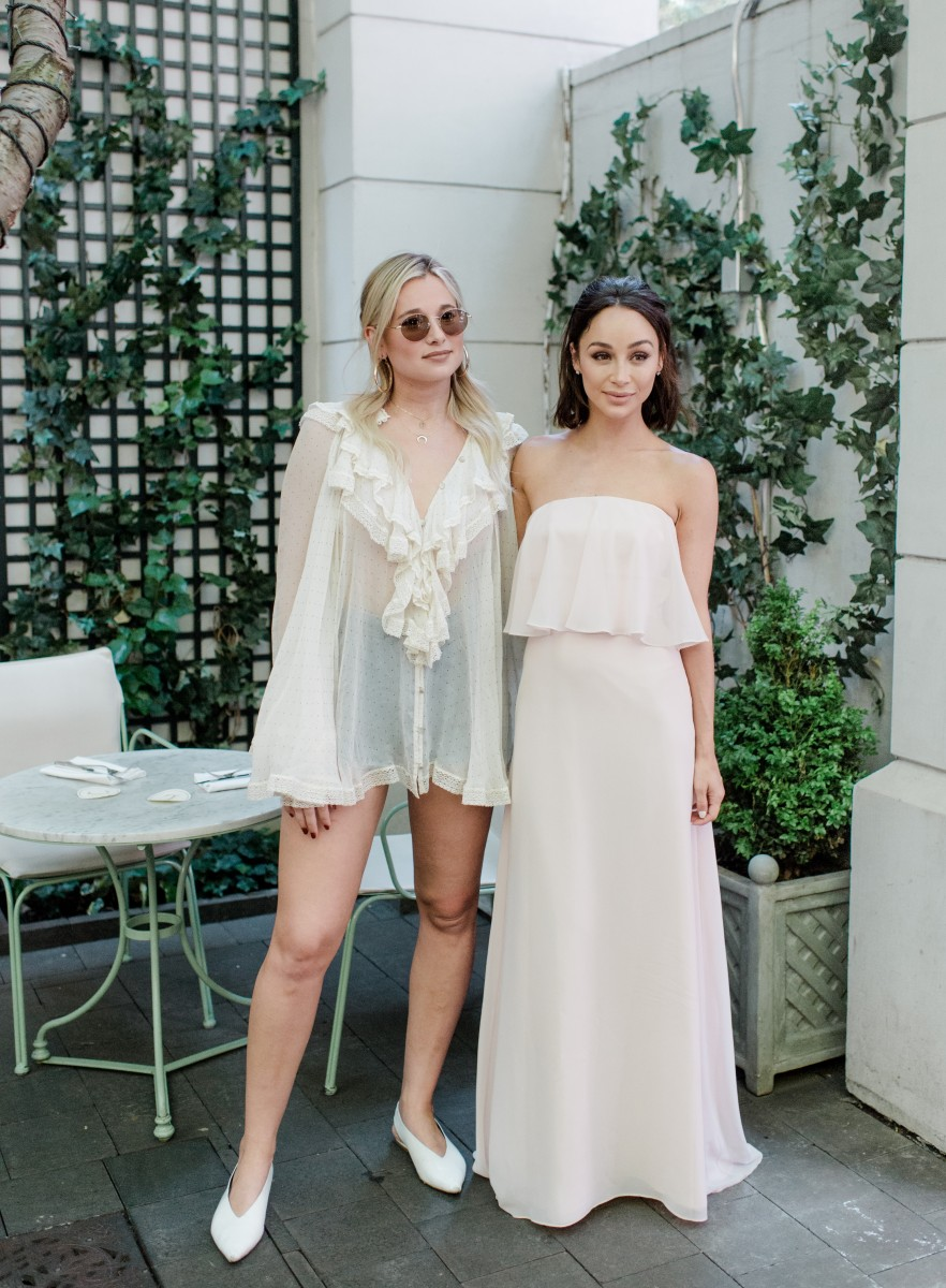 Vows Wedding Dresses Nyc : Cara santana hosts bridal shower with vow to be chic photos by rebecca