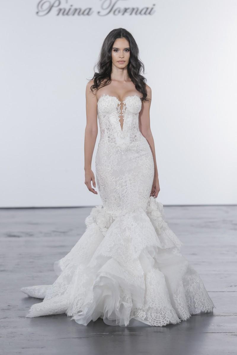 pnina tornai for kleinfeld nyfw bridal 2018   fashion maniac