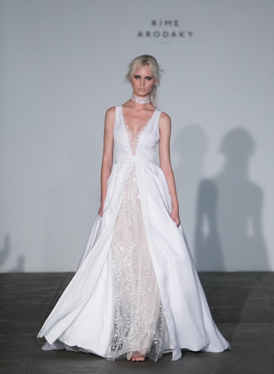Rime Arodaky 2018 Bridal Collection photos by Greg Finck - Fashion ...