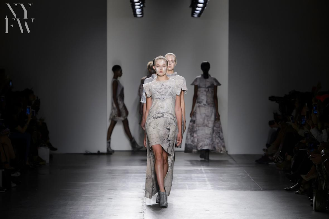 Caafd Spotlighted A Series Of Talented Emerging Designers At S S Nyfw 2018 Collective Showcase Fashion Maniac