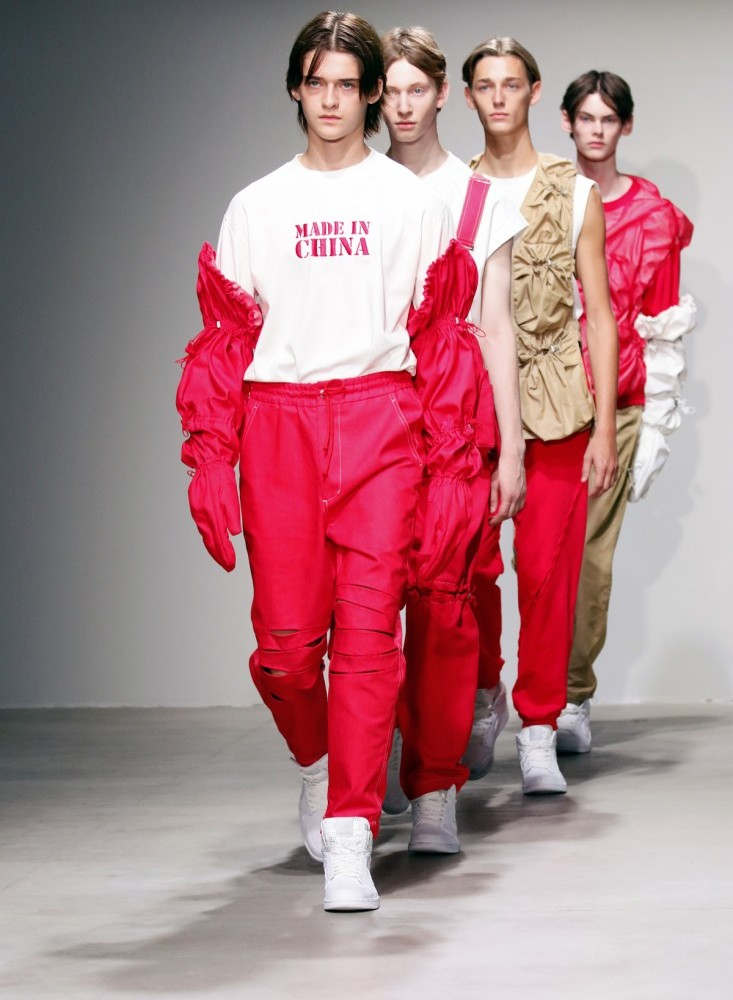 Feng Chen Wang Mens NYFW SS2018 photo by Cheryl Gorski 1 33