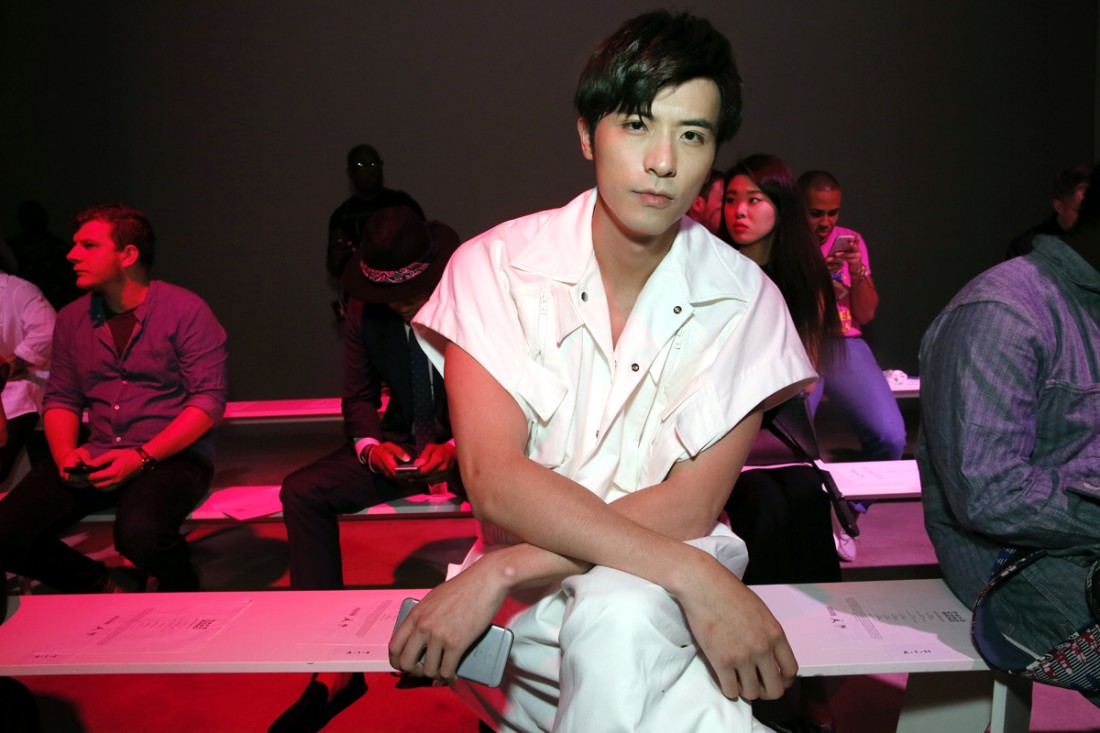 Front Row@Feng Chen Wang Mens NYFW SS2018 photo by Cheryl Gorski 3