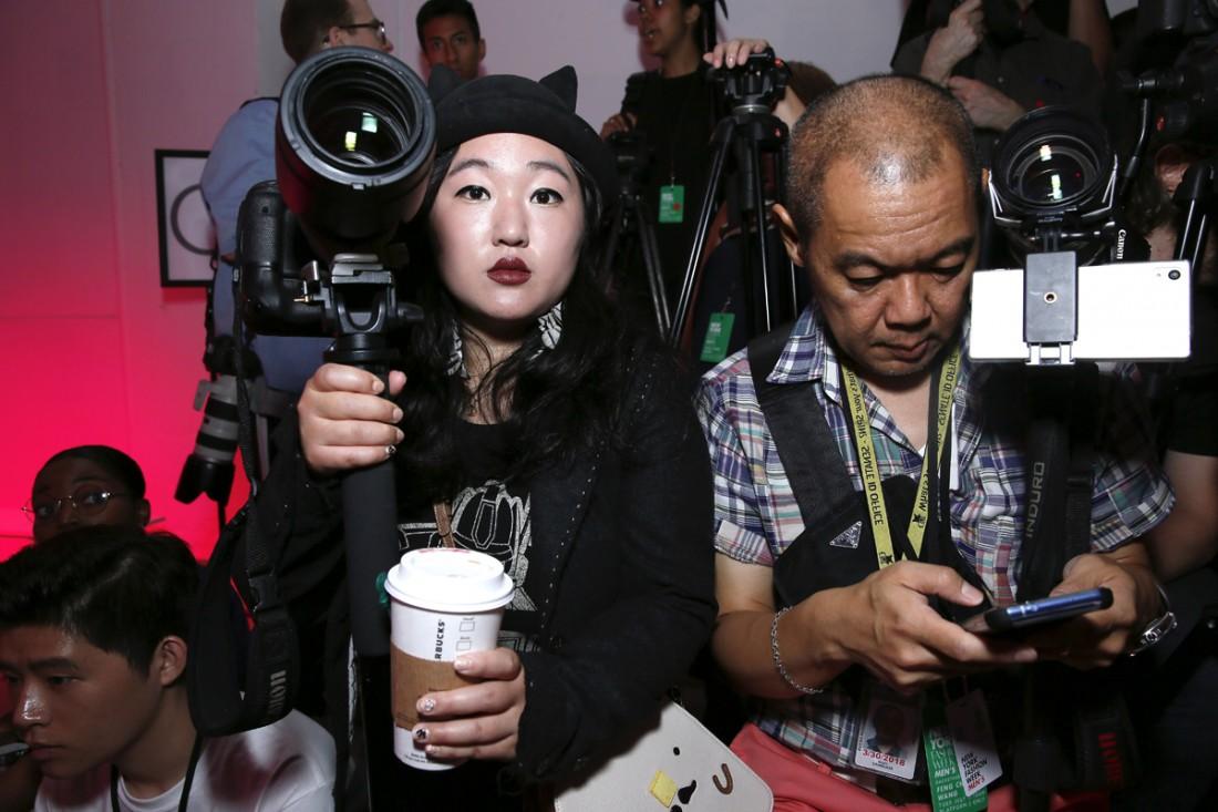 Leah Kim Rudy K @Feng Chen Wang Mens NYFW SS2018 photo by Cheryl Gorski