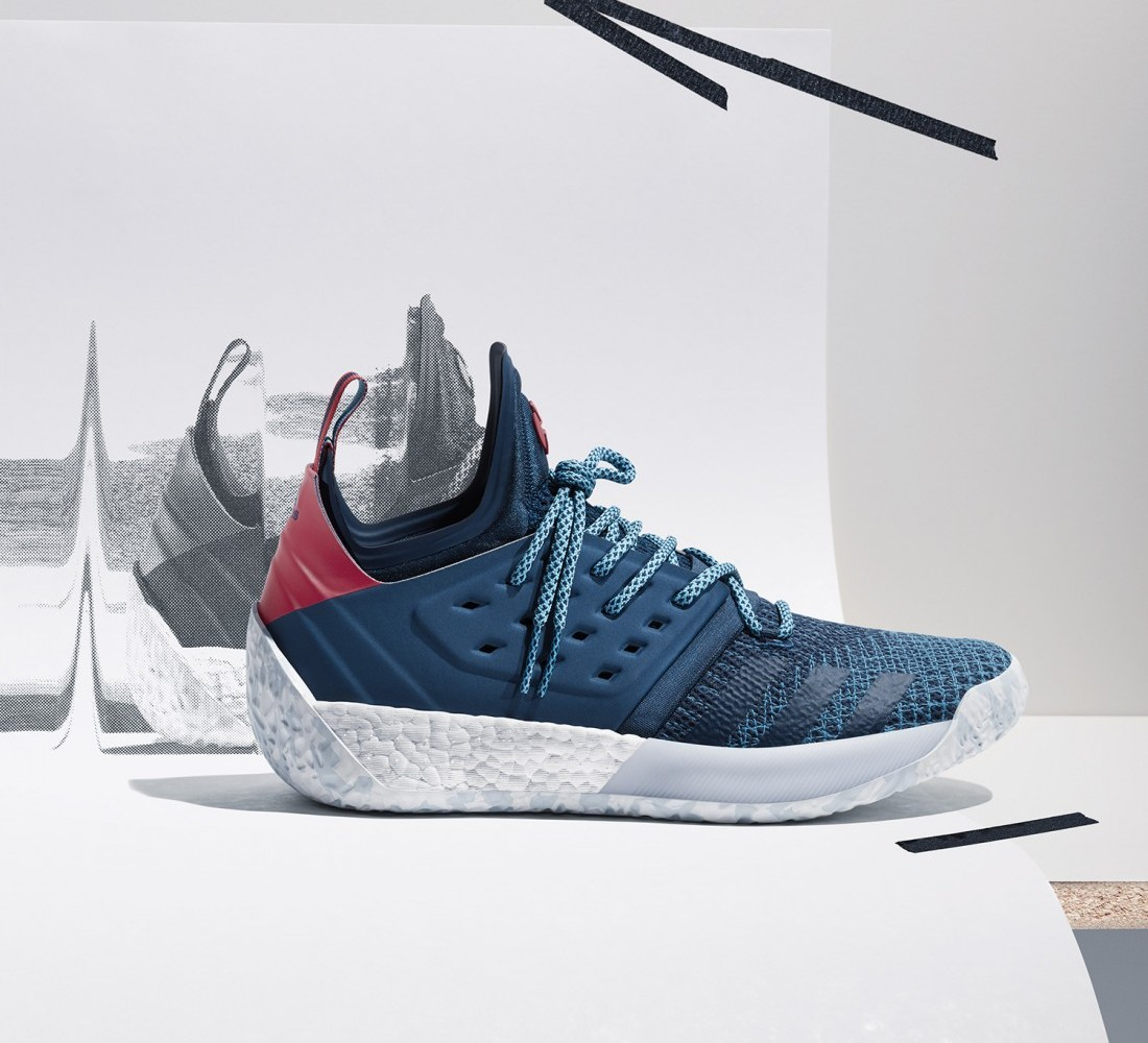 Step Back to Lift Off  adidas   James Harden Introduce Two New Harden Vol. 2  Colorways - Fashion Maniac a2758f7d3