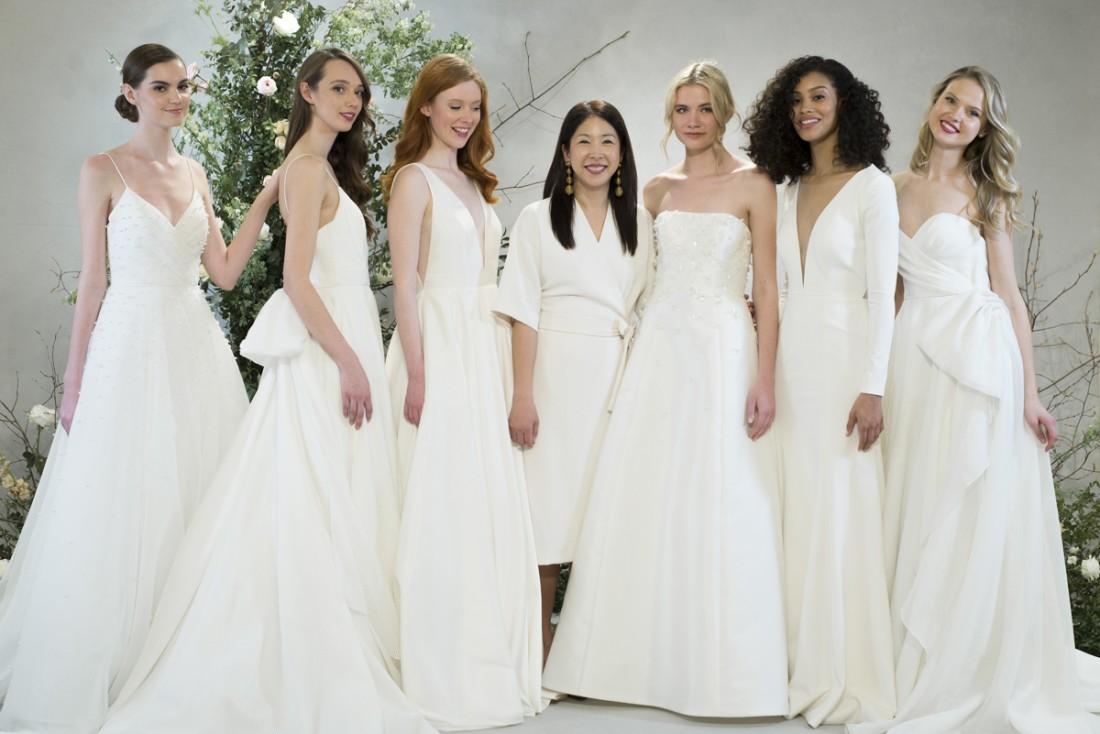 bd63f162b4b JENNY YOO NYFW Bridal FALL 2018 Photos by Marcy Castelgrande - Fashion  Maniac