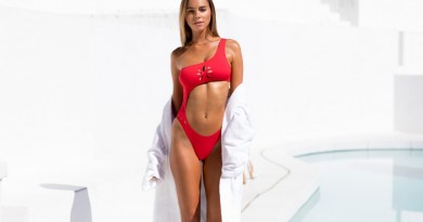 GIGI C BIKINIS France One Piece Red