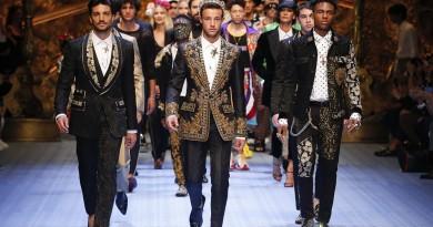 dolce and gabbana summer 2019 men fashion show runway 138