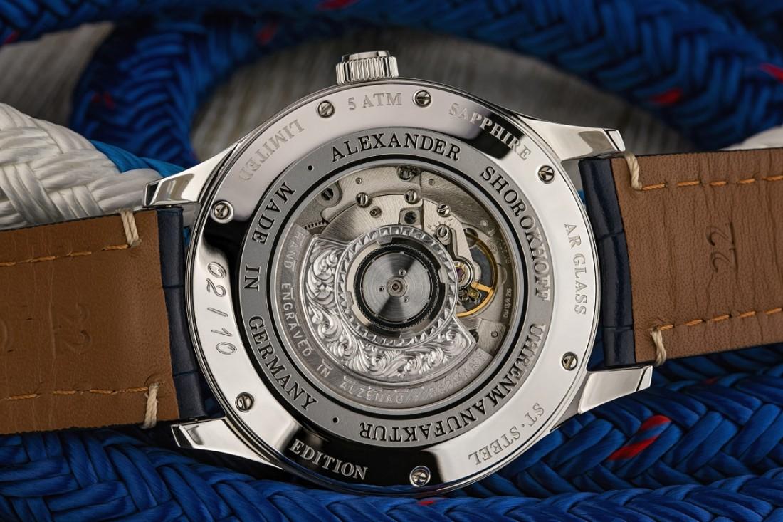 Alexander Shorokhoff Newport Watch back Image copyright Ty Maciejewski