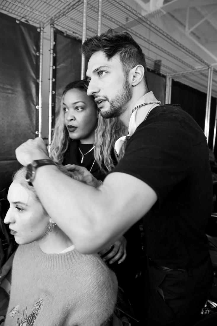 Behind the Scene@ Ricardo Seco NYFW FW2018 photo by Cheryl Gorski 67