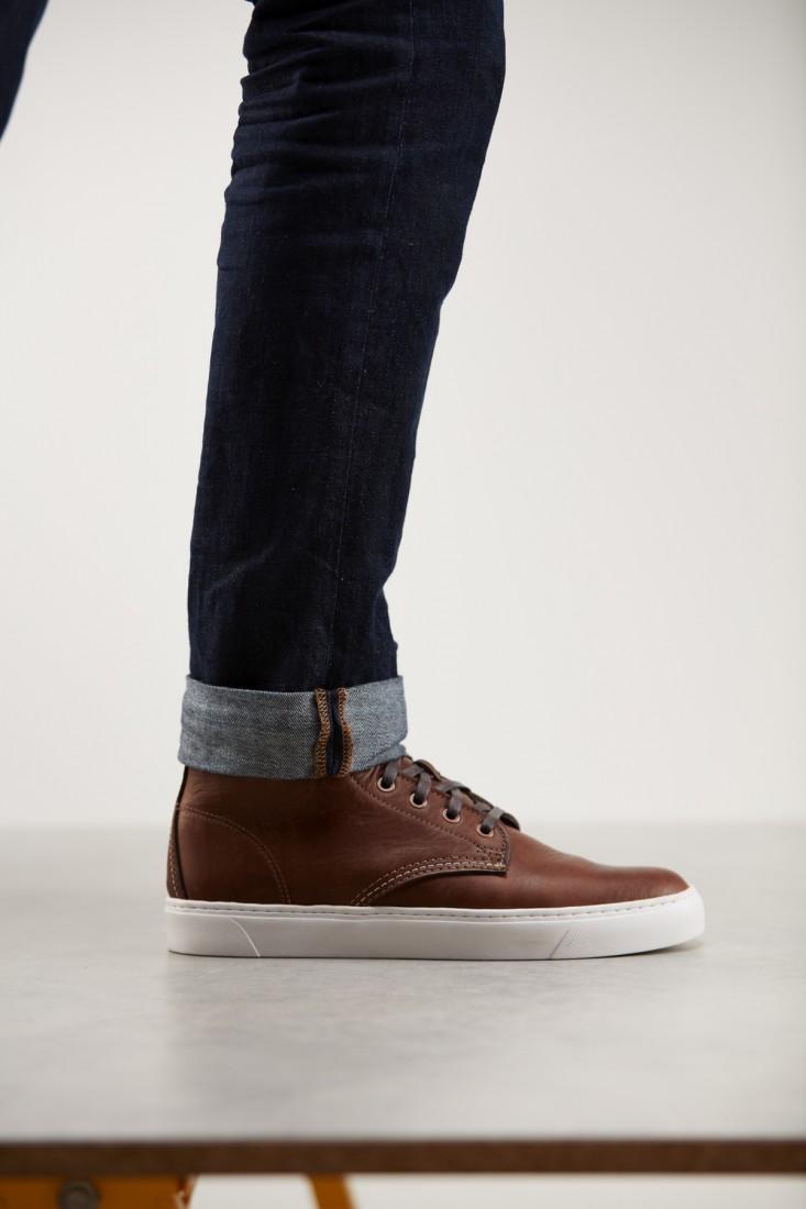 Original Sneaker Brown Step 1