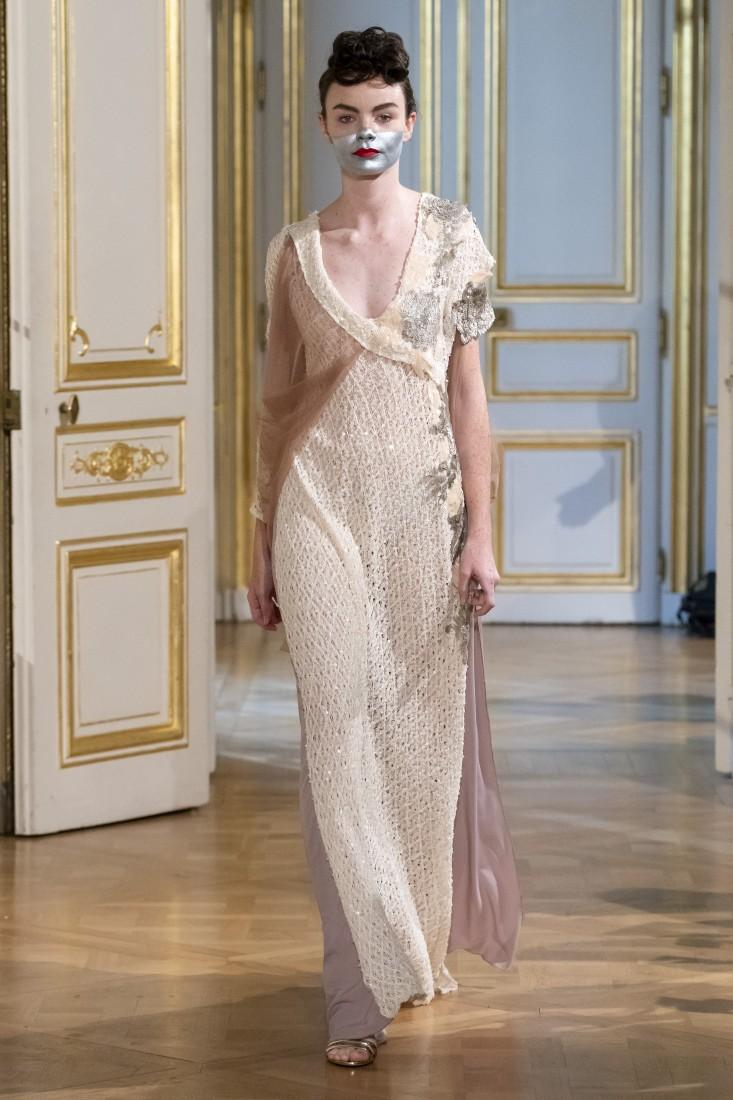 Photos défilé fashion show Patuna Couture Carré dAs Collection automne hiver fall winter 2018 2019 PFW © Imaxtree 11