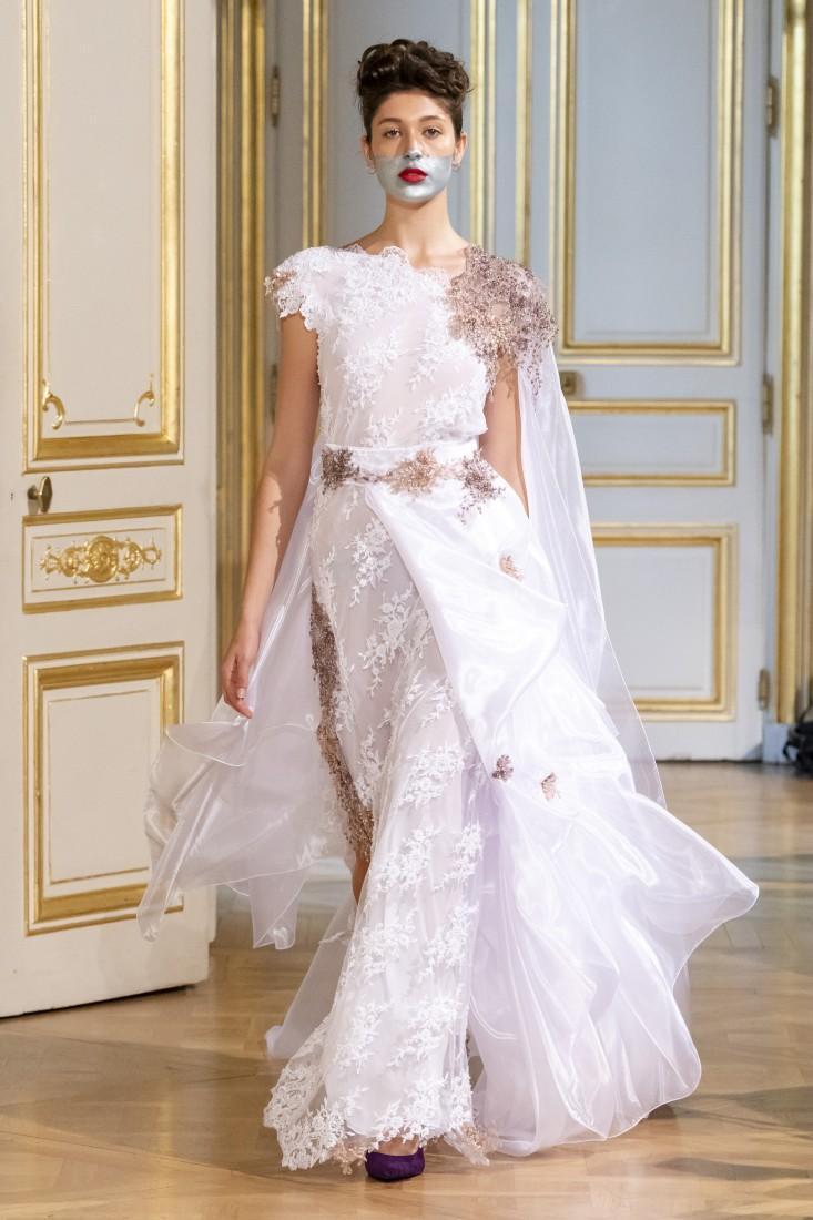 Photos défilé fashion show Patuna Couture Carré dAs Collection automne hiver fall winter 2018 2019 PFW © Imaxtree 20