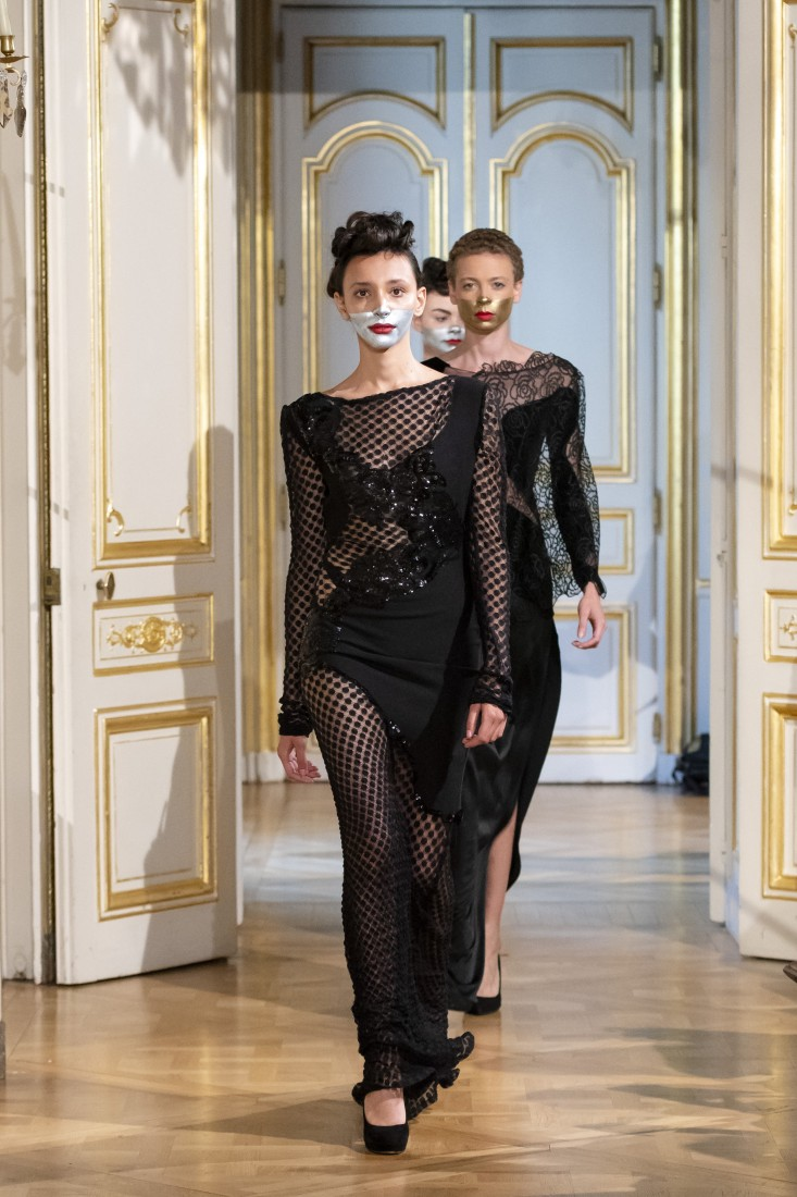Photos défilé fashion show Patuna Couture Carré dAs Collection automne hiver fall winter 2018 2019 PFW © Imaxtree 21