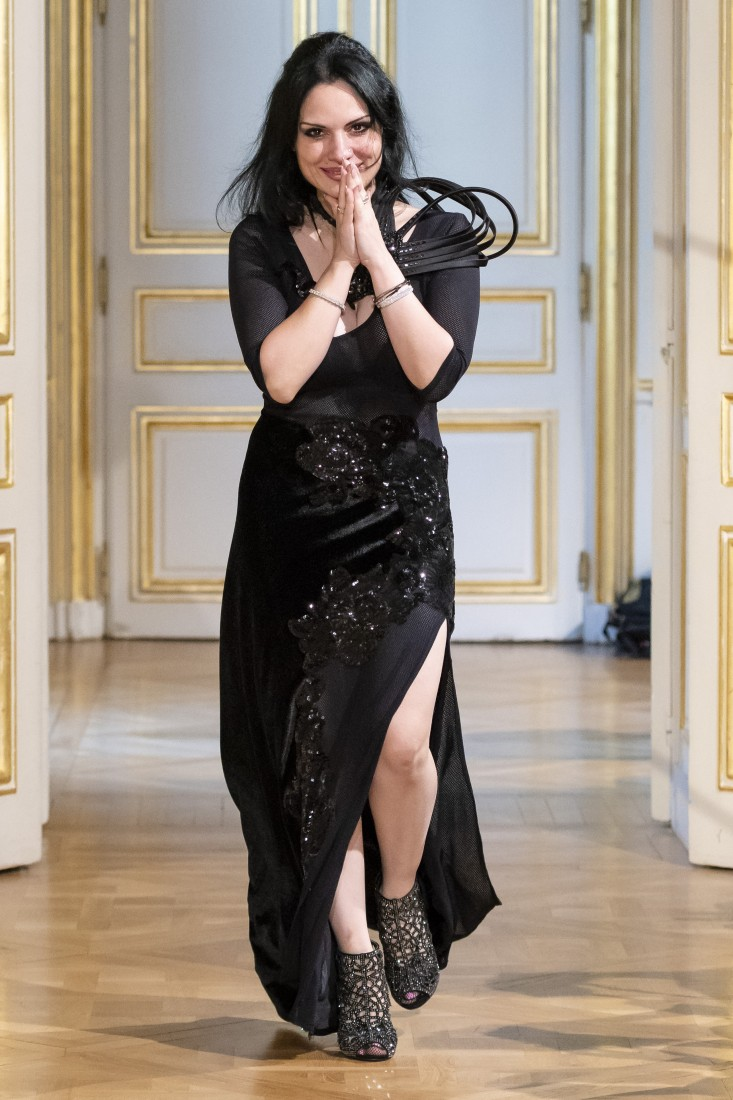 Photos défilé fashion show Patuna Couture Carré dAs Collection automne hiver fall winter 2018 2019 PFW © Imaxtree 22