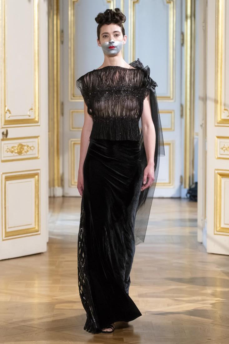 Photos défilé fashion show Patuna Couture Carré dAs Collection automne hiver fall winter 2018 2019 PFW © Imaxtree 6