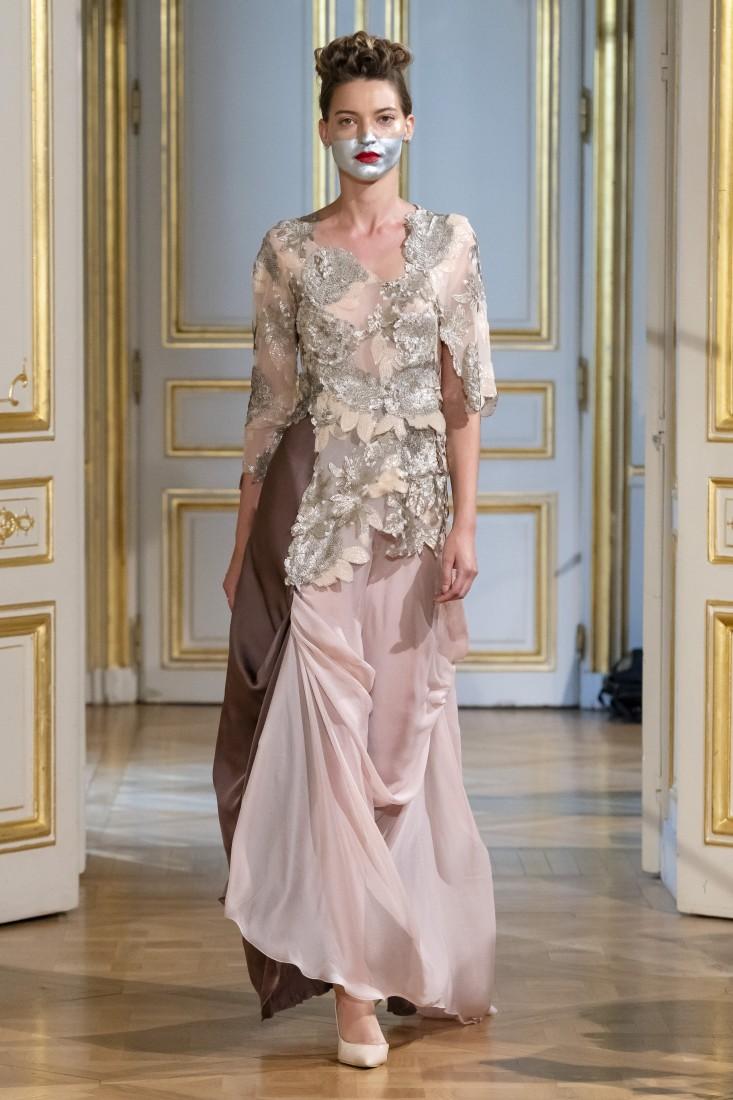 Photos défilé fashion show Patuna Couture Carré dAs Collection automne hiver fall winter 2018 2019 PFW © Imaxtree 7