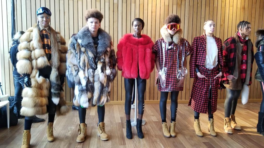 Romeo Hunte Presentation WOMENS NYFW AW 2018 Photos by Leah Kim 1