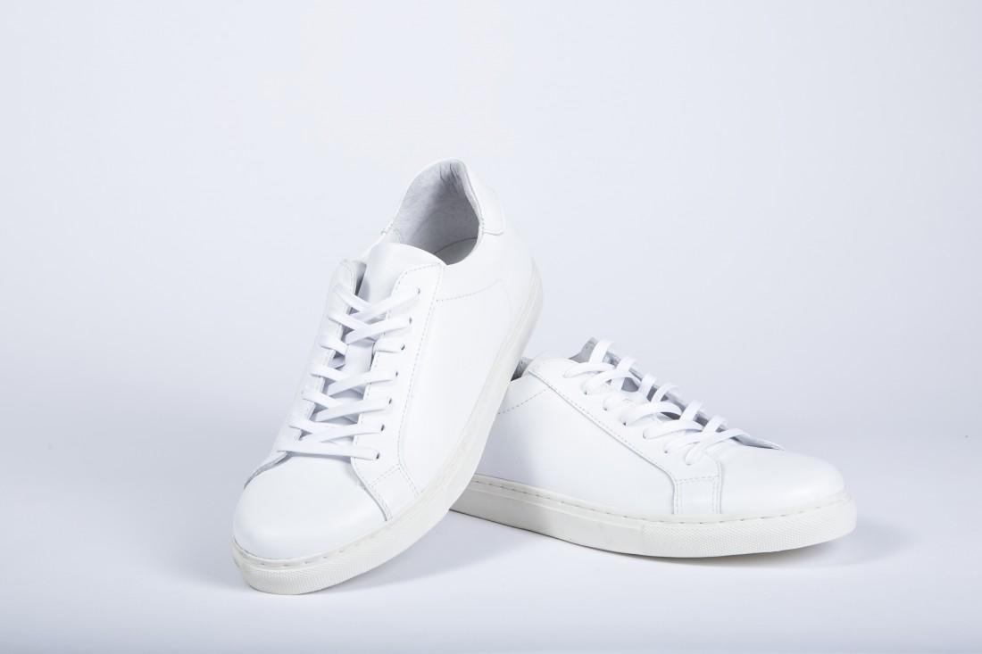 RomeroMcPaul Mens Low Top Sneakers White