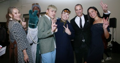 Laurence Chico Designers J. Alexander and Nigel Barker @ Laurence Chico NYFW FW2018 photo by Cheryl Gorski 14