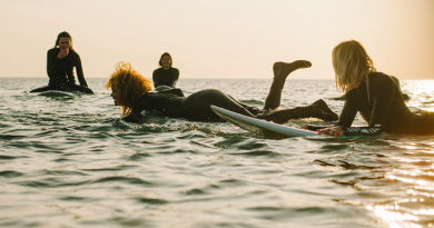 The changing face of surfing