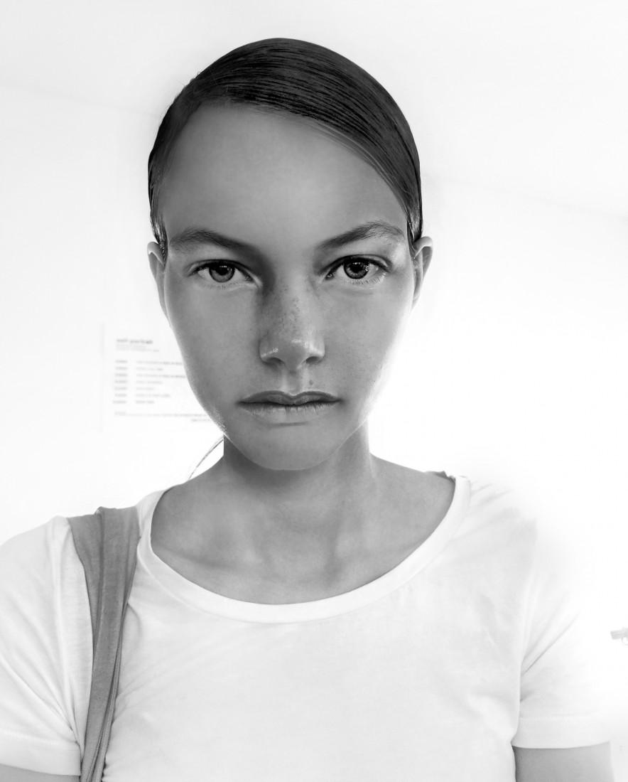 Backstage @ Self Portrait NYFW SS2019 photos by Leah Kim 21