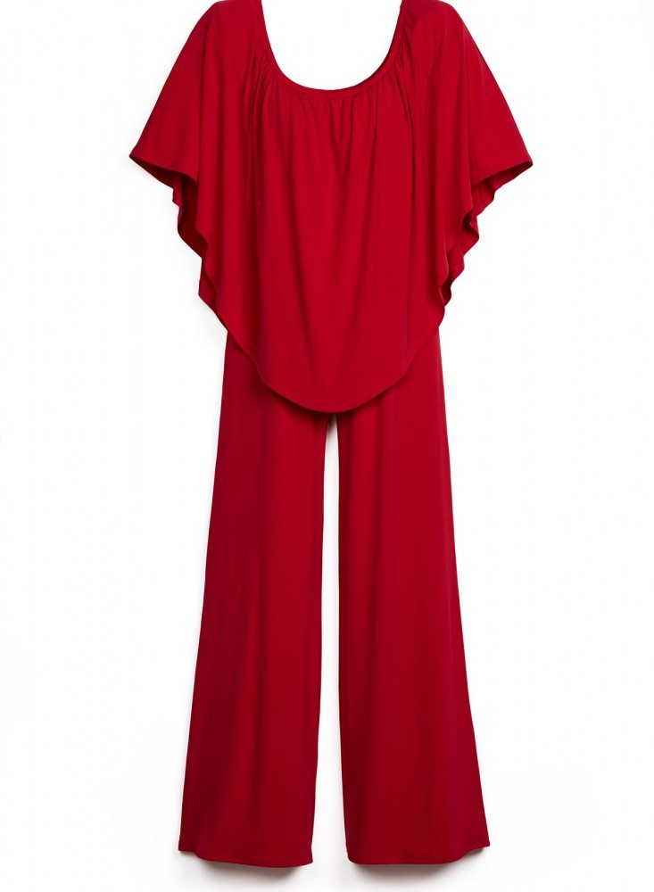 Beyond Proper TRIPLE THREAT JUMPSUIT BORDEAUX 1