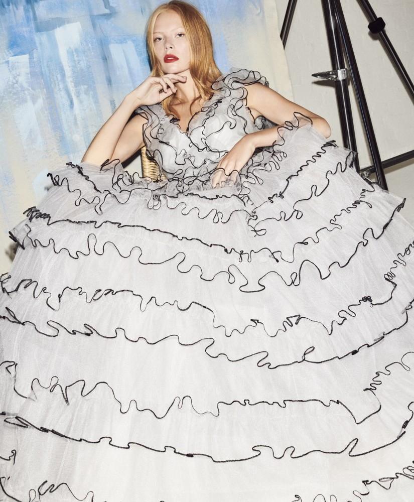 Jenny Packham SS19 Campaign Dolores Gown