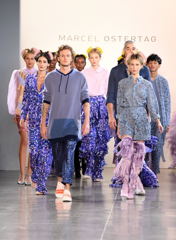 Marcel Ostertag NYFW SS2019 photo by Micheline Michaelina 85