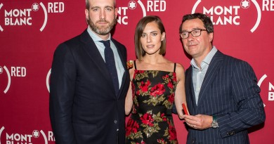 WRITERED END AIDS Montblanc RED Carpet By Aly Kuler 137