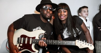 Wyclef and Claudinette Jean Gonzalo Marroquin