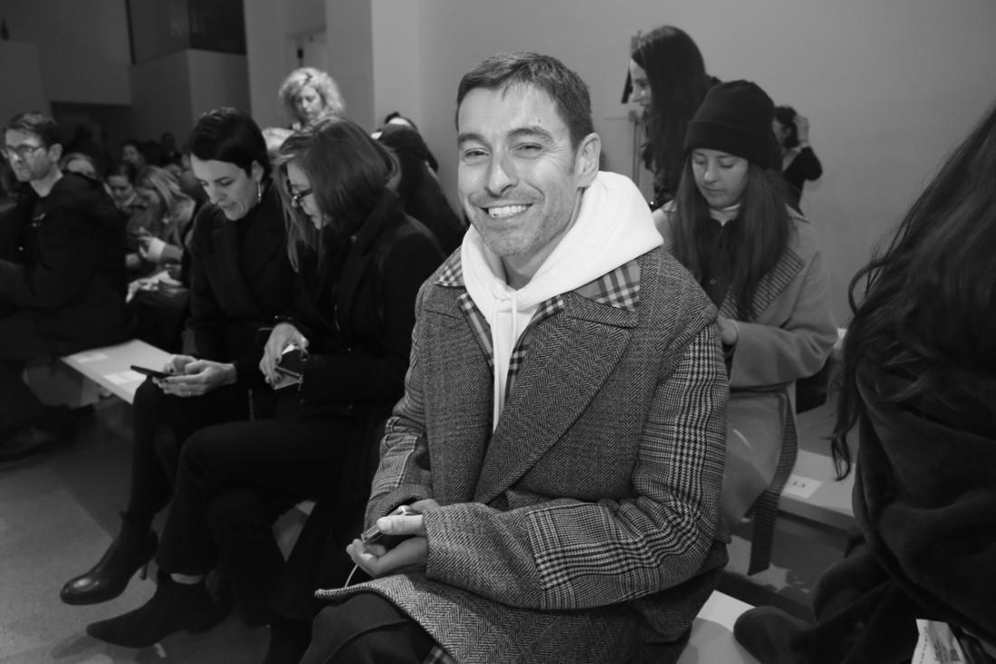 Alex Badia Front Row@Matthew Adams Dolan WOMENS NYFW FW2018 Photos by Cheryl Gorski 6