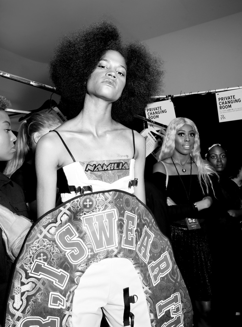 Backstage@ Namilia NYFW SS2019 photo by Cheryl Gorski 35
