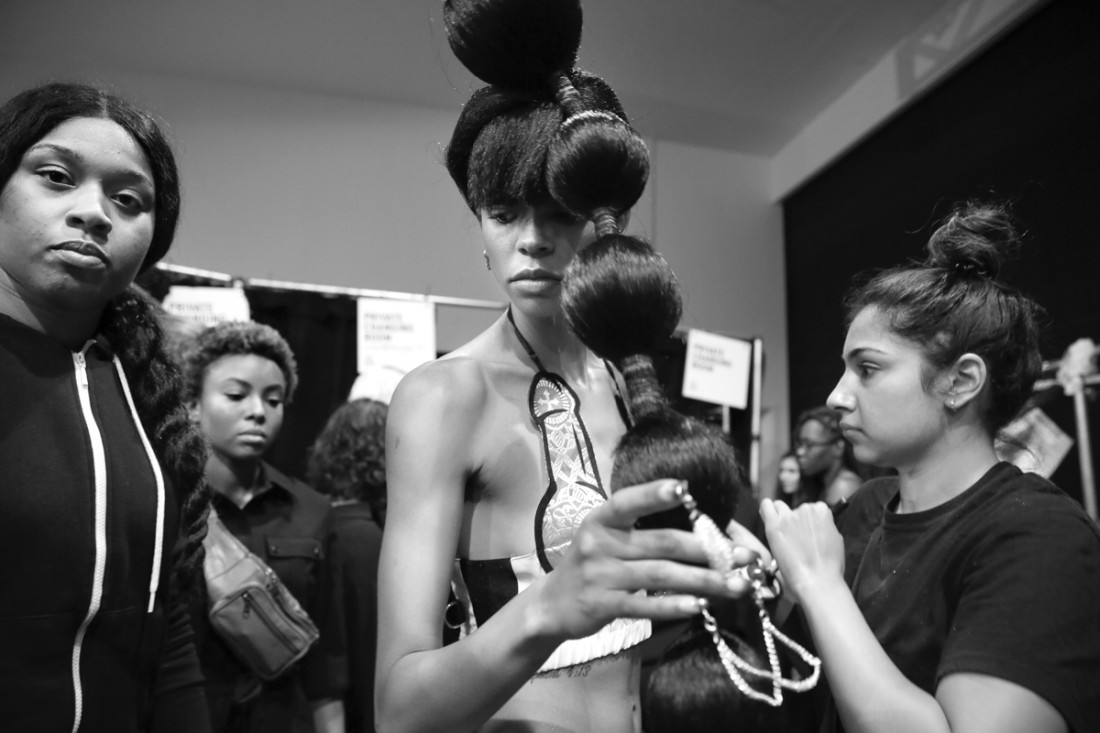 Backstage@ Namilia NYFW SS2019 photo by Cheryl Gorski 59