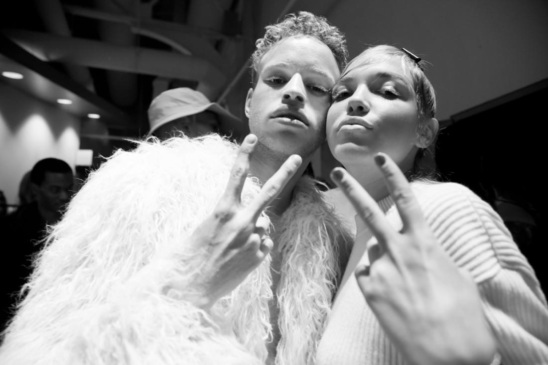 Backstage@Flying Solo NYFW FW2018 photo by Cheryl Gorski 37