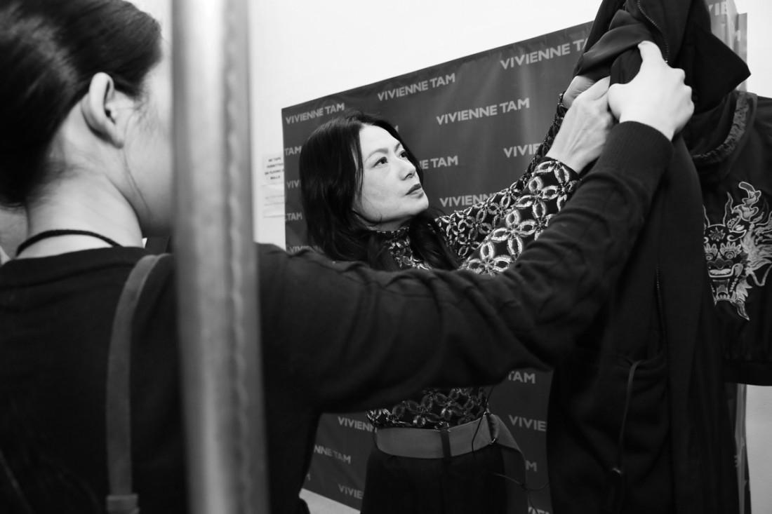 Backstage@Vivienne Tam NYFW FW2018 photo by Cheryl Gorski 2