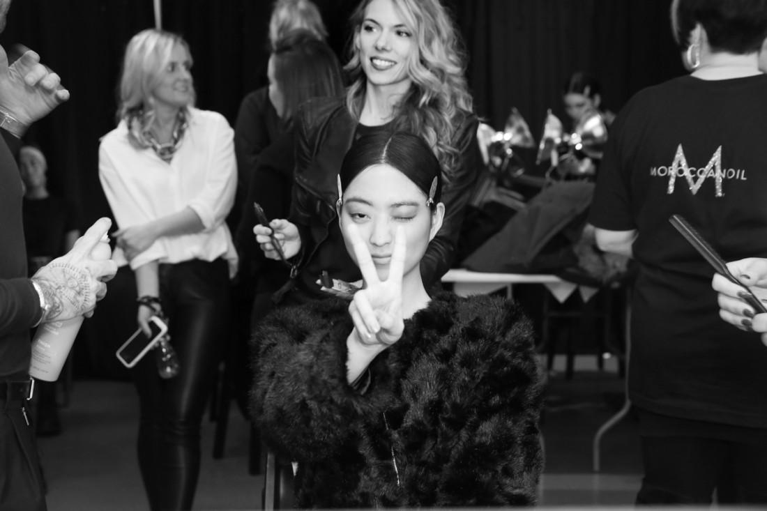 Backstage@Vivienne Tam NYFW FW2018 photo by Cheryl Gorski 24
