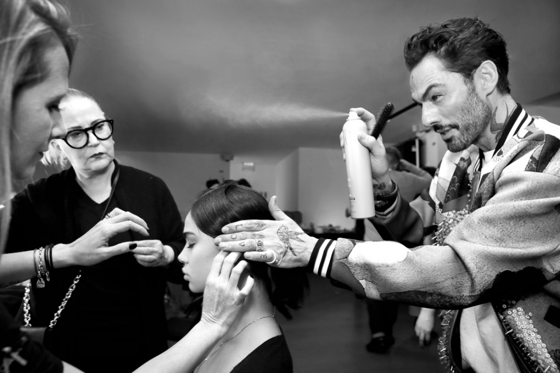 Backstage@Vivienne Tam NYFW FW2018 photo by Cheryl Gorski 40