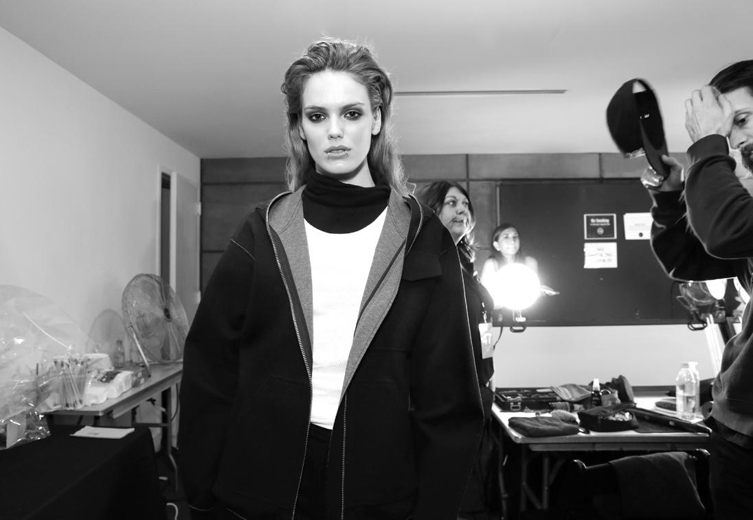 Backstage@Yajun NYFW FW2018 photo by Cheryl Gorski 1