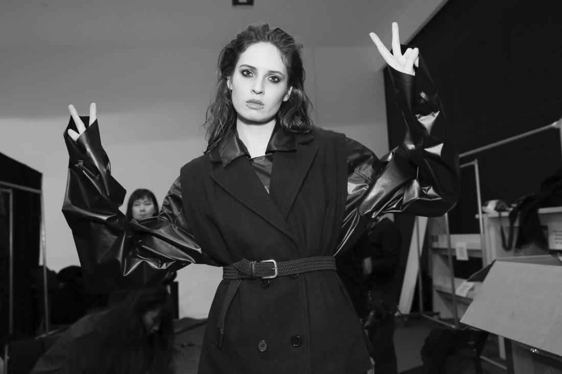 Backstage@Yajun NYFW FW2018 photo by Cheryl Gorski 17