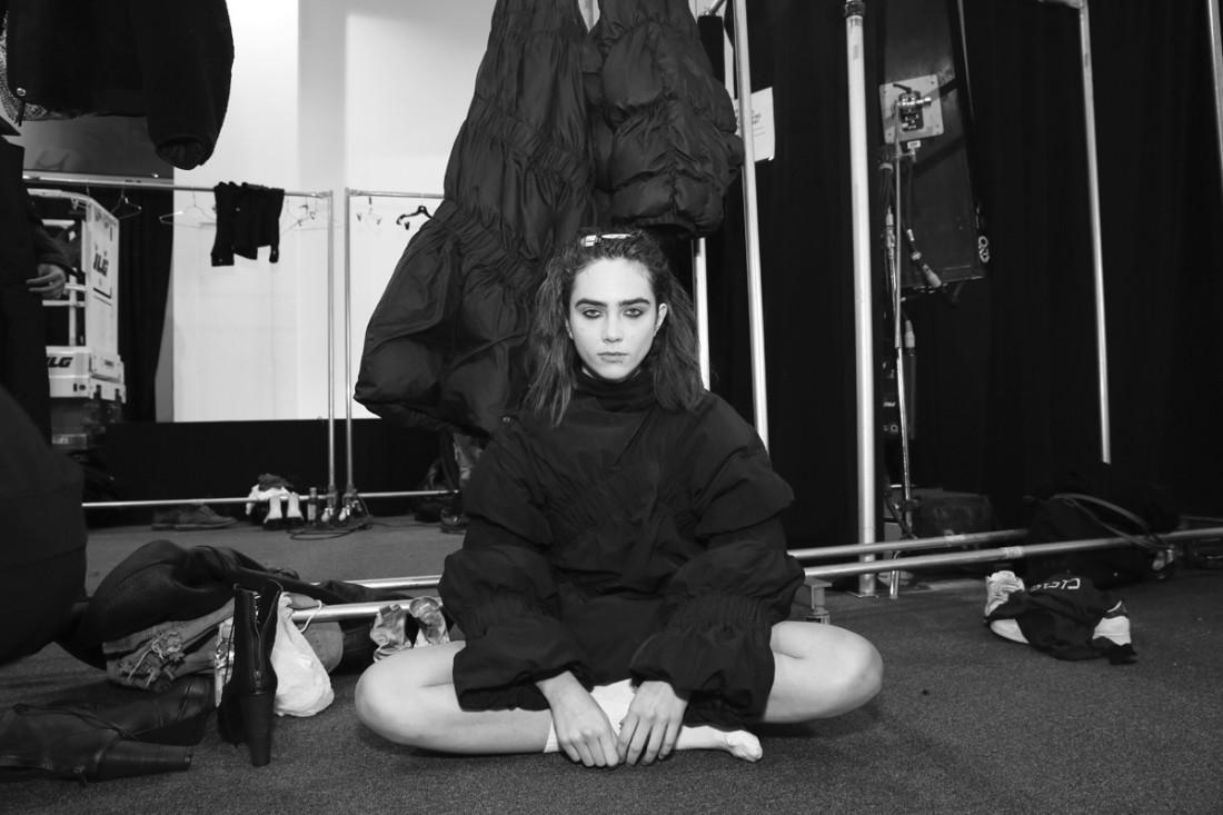 Backstage@Yajun NYFW FW2018 photo by Cheryl Gorski 21