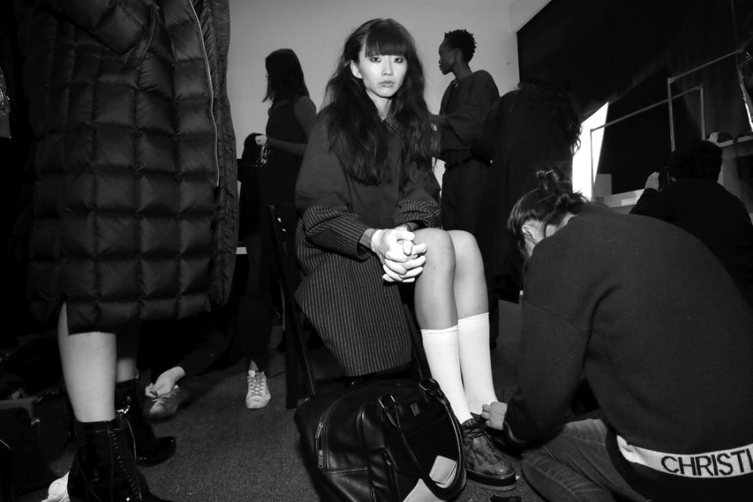 Backstage@Yajun NYFW FW2018 photo by Cheryl Gorski 27
