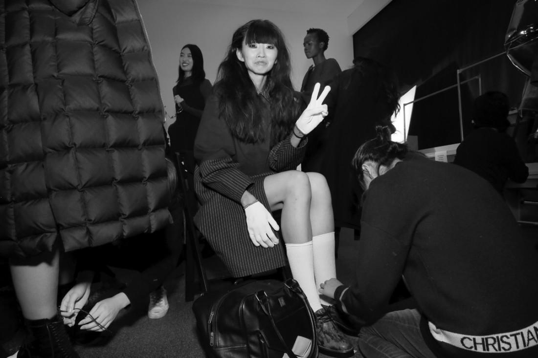 Backstage@Yajun NYFW FW2018 photo by Cheryl Gorski 28