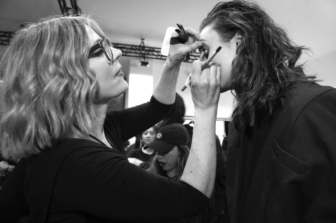 Backstage@Yajun NYFW FW2018 photo by Cheryl Gorski 44