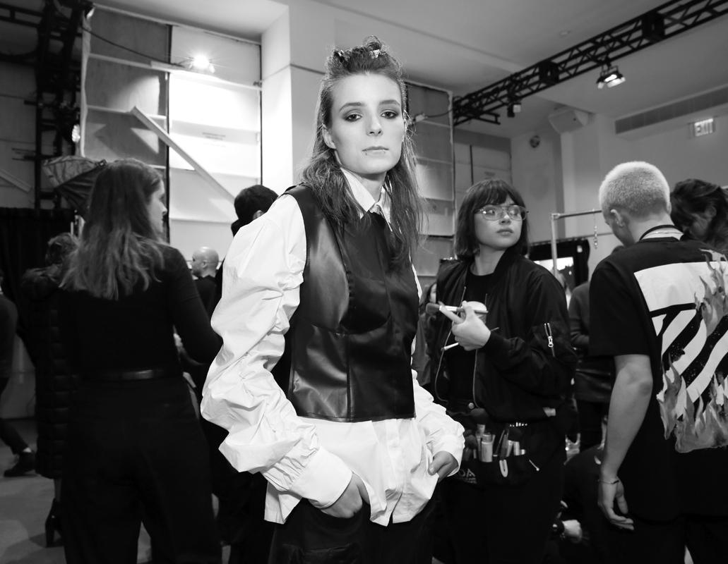 Backstage@Yajun NYFW FW2018 photo by Cheryl Gorski 45