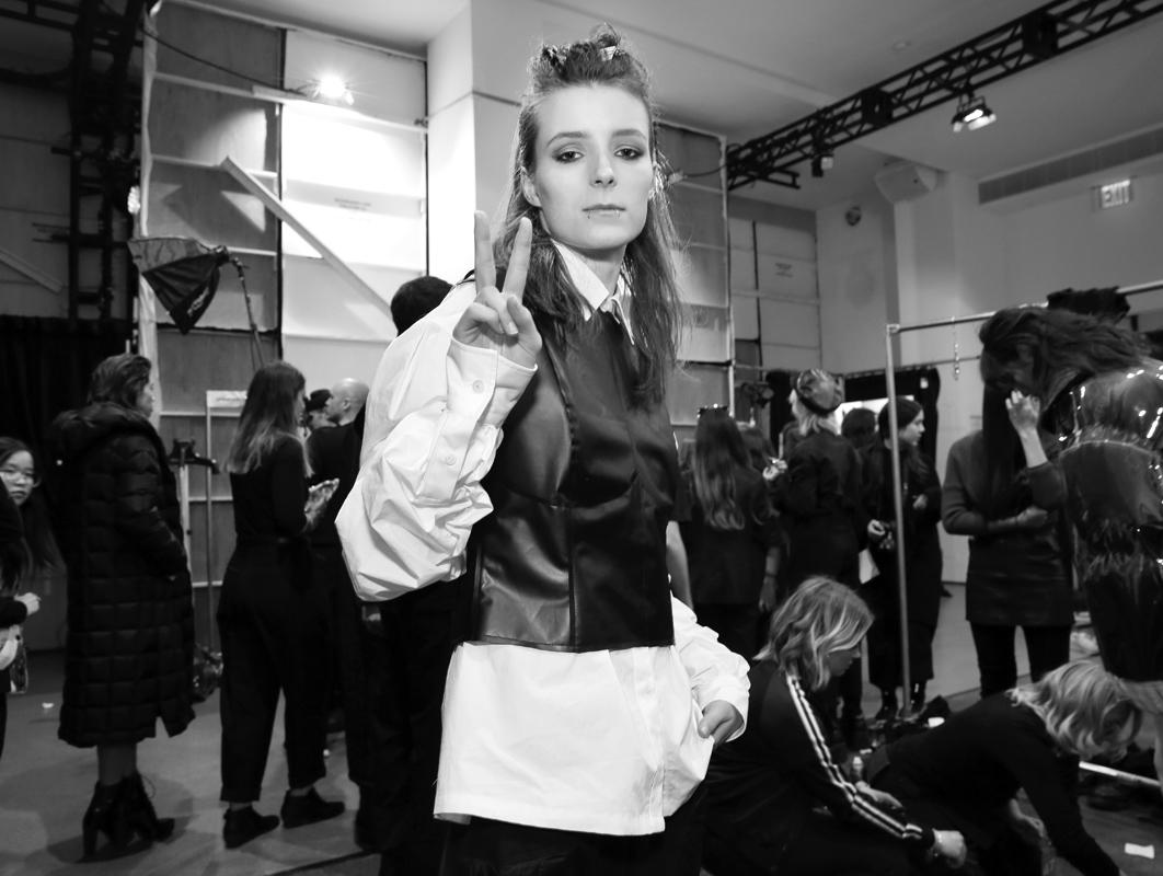 Backstage@Yajun NYFW FW2018 photo by Cheryl Gorski 46