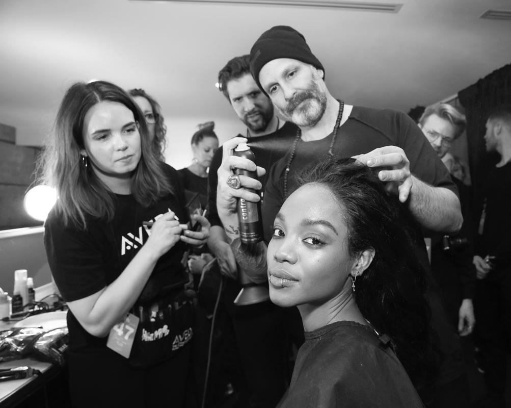 Backstage@Yajun NYFW FW2018 photo by Cheryl Gorski 7