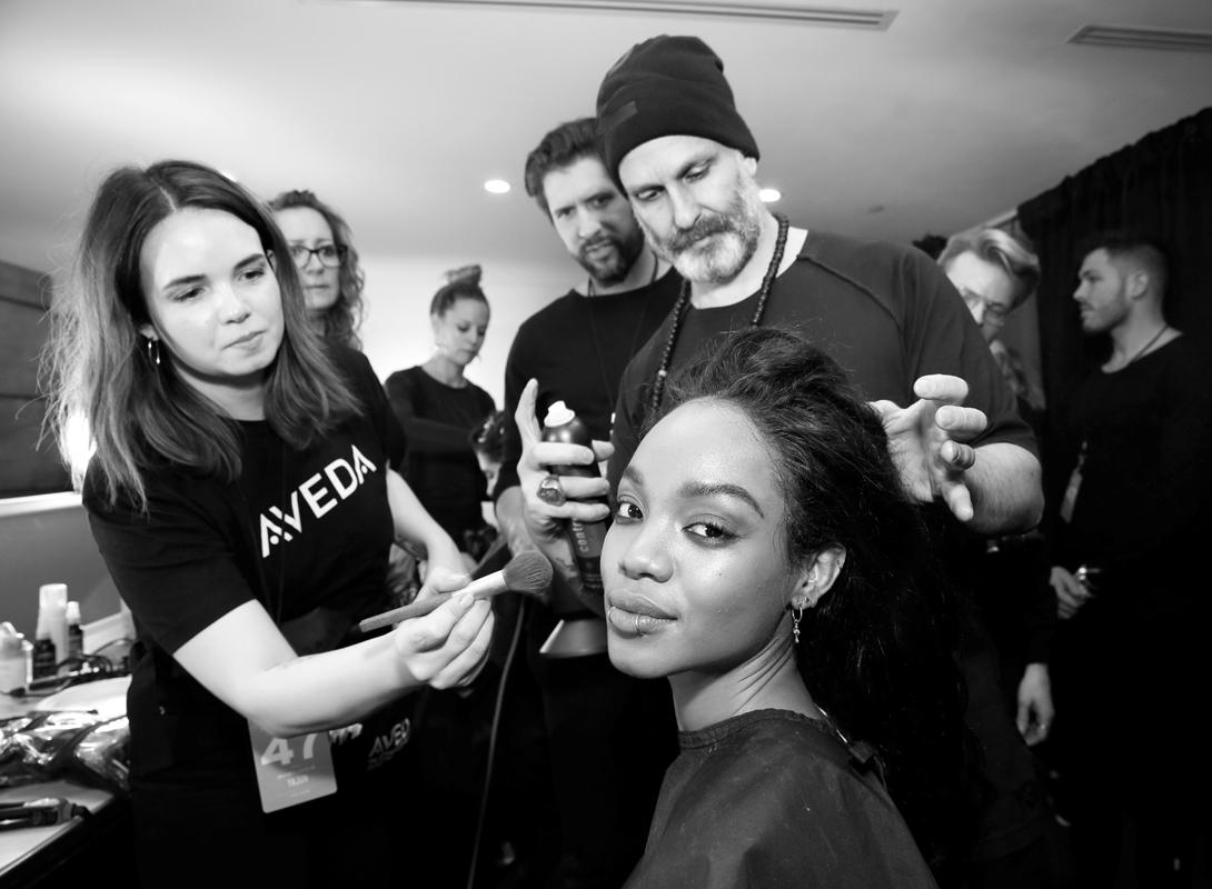 Backstage@Yajun NYFW FW2018 photo by Cheryl Gorski 8