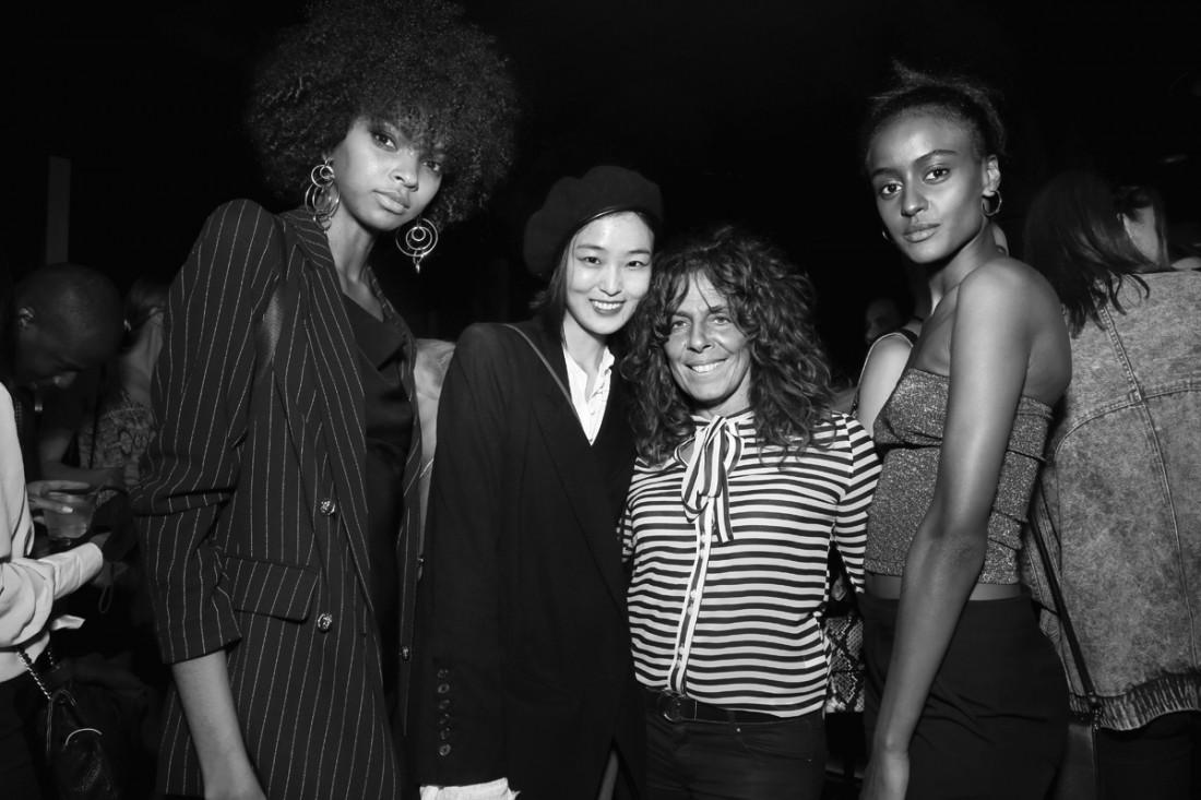 Djenice Duarte Yue Han Lula Kenfe@ Wilhelmina NYFW Party 2018 photo by Cheryl Gorski 95