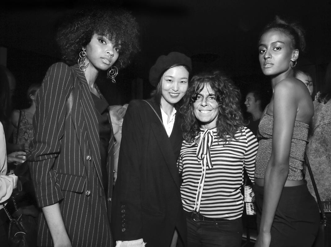Djenice Duarte Yue Han Lula Kenfe@Wilhelmina NYFW Party 2018 photo by Cheryl Gorski 96